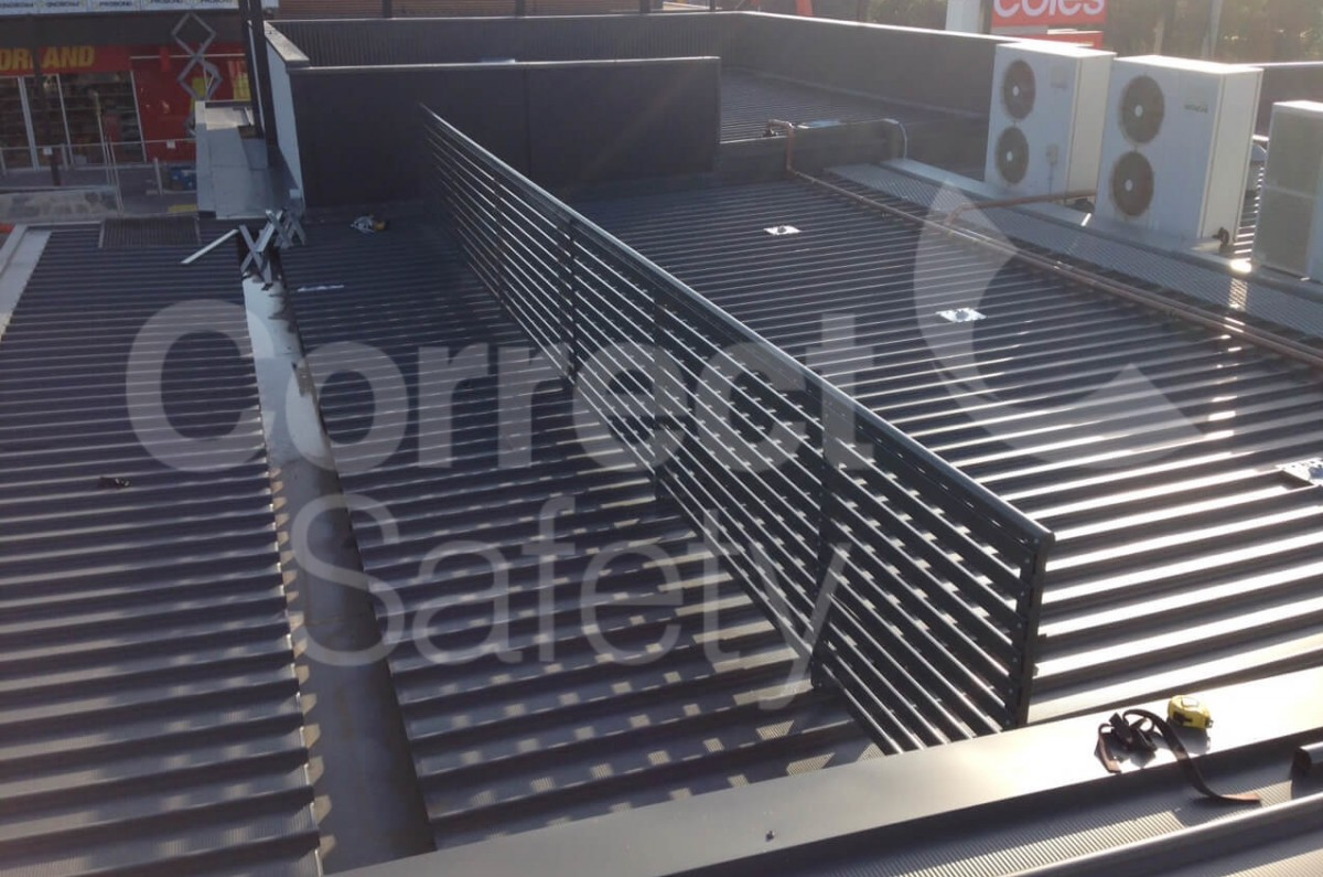 Roof Guardrail Systems Roof Walkway Systems Melbourne